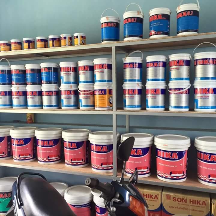 Phân phối sơn HIKA cao cấp công nghệ Nhật Bản