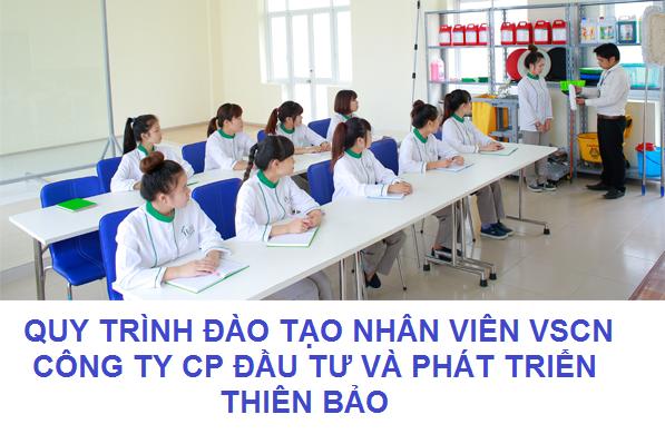 Quy trình đào tạo nhân viên VSCN